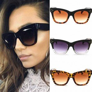 Cat Eyes Sunglasses Acetate Vintage Shades Smoke Lens