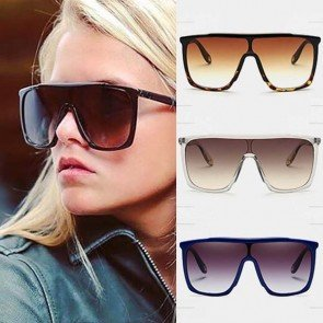 Flat Top Big Size Aviator Bold Statement Sunglasses