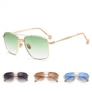 Oversized chic vintage sunglasses cop style aviators