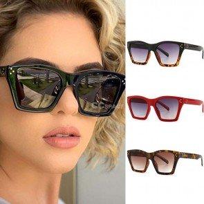 Women fashion vintageretro cat eye sunglasses