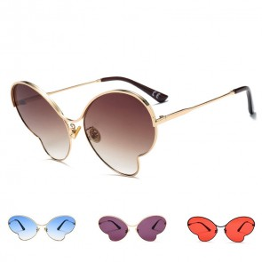 Butterfly Shaped Sunglasses Oversized Shades Street Show