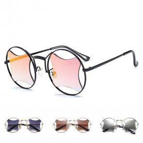 Retro-fab festival sunglasses round tinted lenses