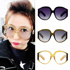 Oversized Aviator Sunglasses Super Big Lens Shades