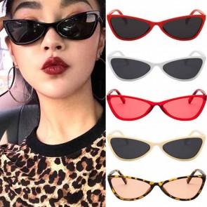 Cat Eye Translucent Candy Tint Street Trend Sunglasses