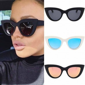 Distinct 50s cat eye sunglasses high pointed corners