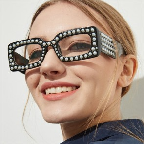 Elegant feminine ladies luxurious bling pearl shades