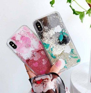 Quicksand Twinkle Shiny Bling Glitter iPhone Case