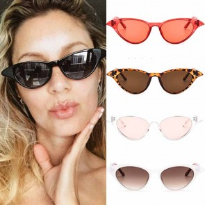 Ladies fashion tip pointed vintage cat eye sunglasses
