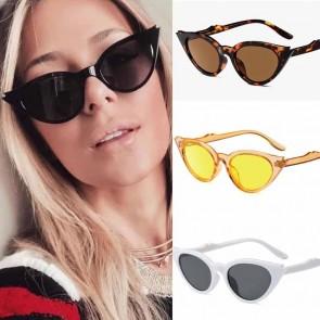 Retro Cute Cat Eye Sunglasses Fancy Stylish Eyewear