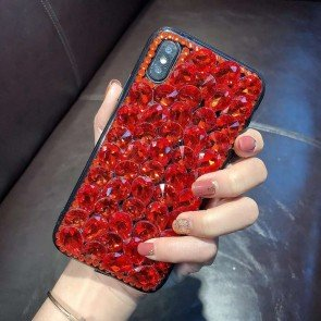 Luxury Bling Crystal Rhinestone Case Cover For iPhone