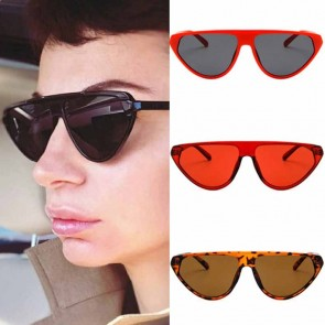Flat top pointed rim cat's eye comfy fit girls shades