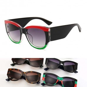 Bold Arms Multicolor Cat Eye Sunglasses Ultimate Trend