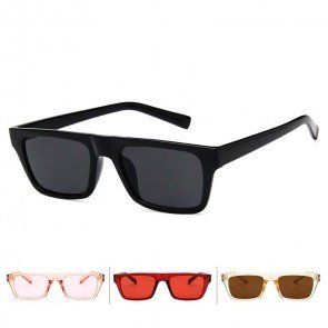 Chic Eyeglasses Small Flat Top Rectangular Sunglasses