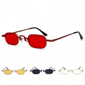 Vintage Statement Candy Colored Small Vogue Shades