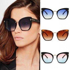 Big Size Cateye Oversize Female Cat Eye Sunglasses