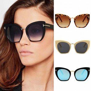 Big Size Cateye Oversize Female Cat Eye Sunglasses