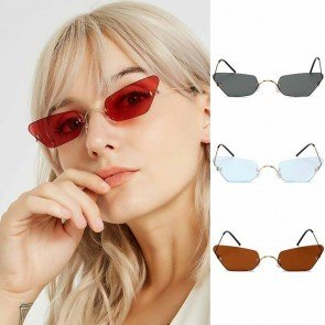 Fruit color pointed rim cat's eye comfy fit girls shades