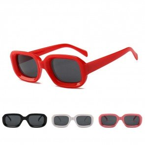 Superb cute charming small rectangle chic sunglasses
