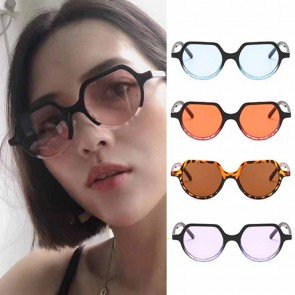 Candy colored tint multicolored frame cute sunglasses
