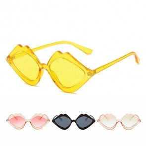 Super Cute Lips Sunglasses Girls Summer Pool Accessory