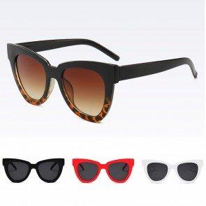 Oversized Comfy Acetate Frame Cat Eyes Sunglasses