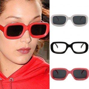 Chic Girls Bold Rim Rectangle Sunglasses