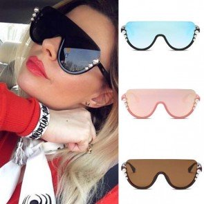 Luxury Oversized Pearls Sunglasses Fashion Big Frame