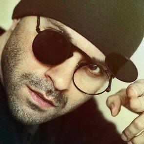 Hi Tek Round Flip Up Steampunk Goth Sunglasses