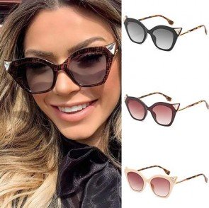Sophisticated look cateyes sunglasses vogue eyewear