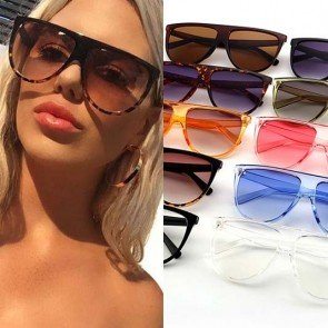 Lady's Fancy Simple Travel Aviators Sunglasses