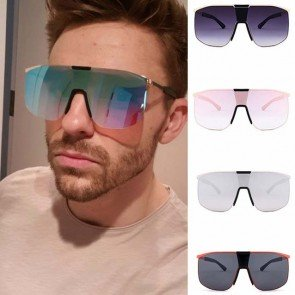Super Oversize Aviator Shades Tear Drop Gradient Lens