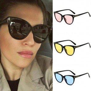Vintage cat eye sunglasses female sexy gradient shades