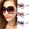 Pearl Decorated Vintage Oversized Butterfly Sunglasses