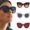 Elegant womens 1950's fashion cat eye sunglasses