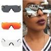 Mod disco mirrored tint flash lens aviator sunglasses