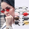 Lightweight metal diamond shaped sunnies colorful tint
