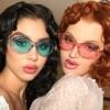 Light Comfort Personality Fashion Oval Sun Glasses