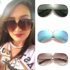 Aviator Sunglasses Metal Frame Colored Lens sunglasses