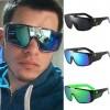 Mod disco mirrored tint mask lens aviator sunglasses