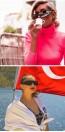 sunglasses flip up