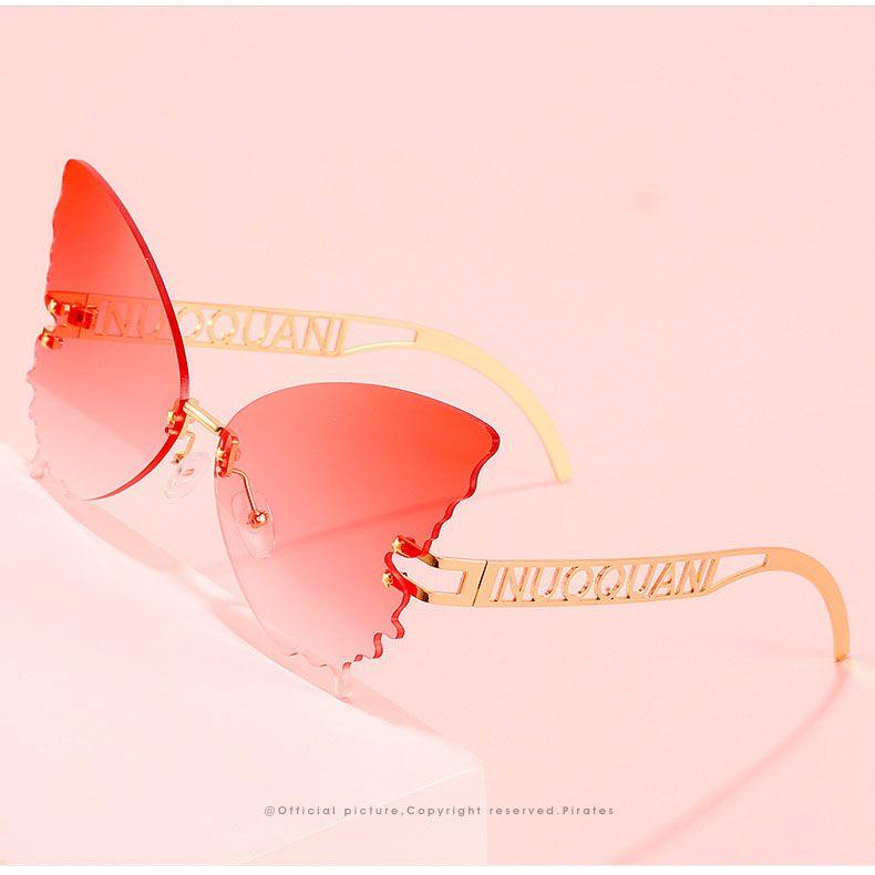 Fashion women vintage butterfly shaped sunglasses
