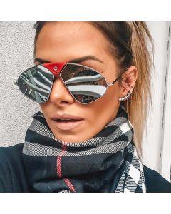 Steam Punk Pilot Metal Frame Aviator Sunglasses