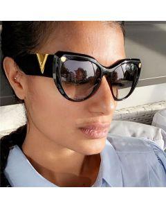 Vintage ladies fashion cute cat eye sunglasses