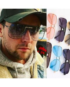 Gradient Alloy Aviator Sunglasses Suitable For Driving
