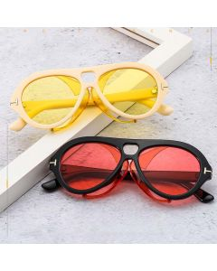 Dapper side shields vintage steampunk circle sunglasses