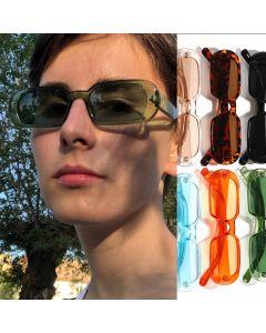 Hip Hop Style Sweet Color Vintage Oval Sunglasses