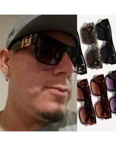 Personality Frame Fashion Retro Rectangular Sunglasses