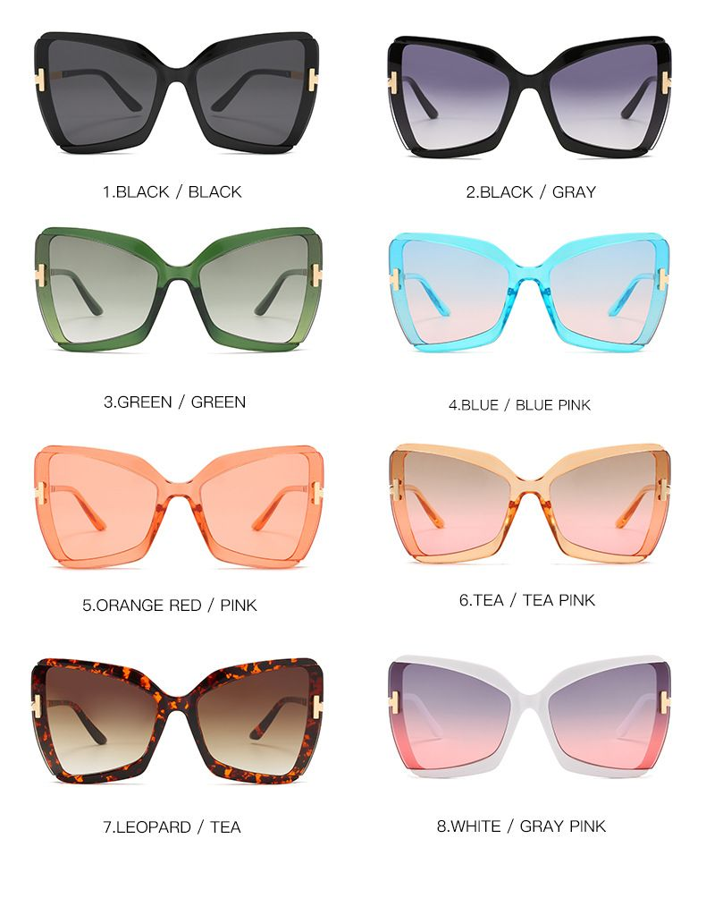 Cute sexy vintage fashion women butterfly sunglasses