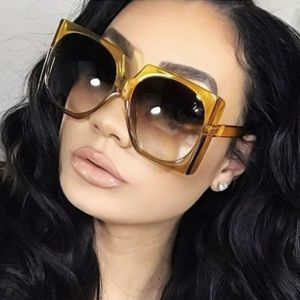 Vintage Flat Top Rectangle Sunglasses