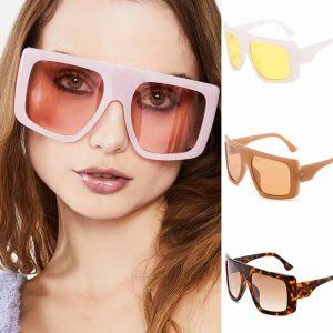 Big Goggles Shield Sunglasses Girls Summer Accessory